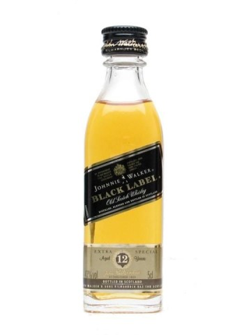 Johnnie Walker Black Label 12 Years Old 0.05l