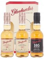 Glenfarclas 10YO, 12YO, 105 - 3 x 0,05l
