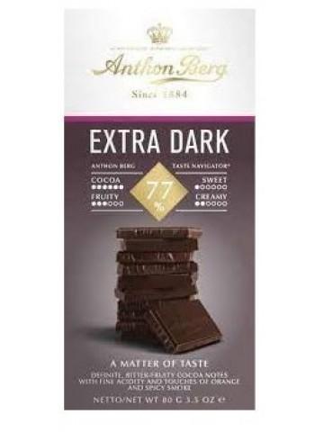 Anthon Berg Extra Dark Chocolate 77%