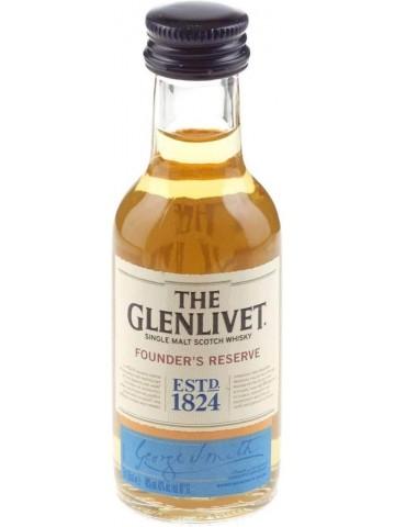 Miniaturka Glenlivet Founder's Reserve 50ml