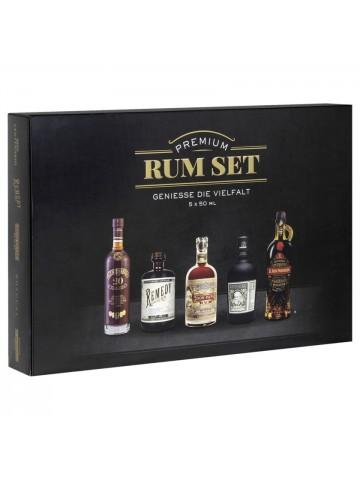 Premium Rum set 5x50ml