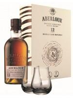 Aberlour 12YO + 2 szklanki