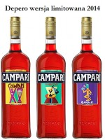 Campari Depero - Limited Edition 2014 1l / 28.5%