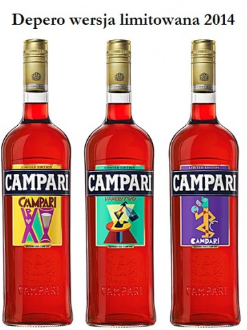 Campari Depero - Limited Edition 2014 1l 28.5%