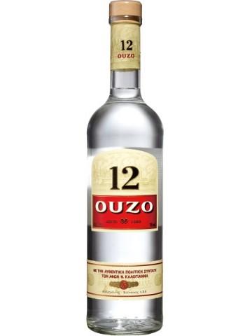 Ouzo 12   0,7 litra