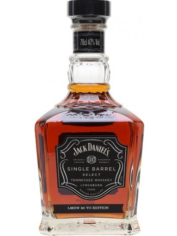 Jack Daniel's Single Barrel Select LMDW 60 YO Edition 0,7L/47%