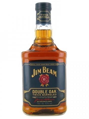 Jim Beam Double OAK Twice Barreled  0,7L/ 43%