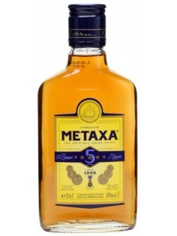 Metaxa 5 YO 40% 200 ml