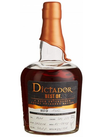 DICTADOR RUM BEST OF 1982
