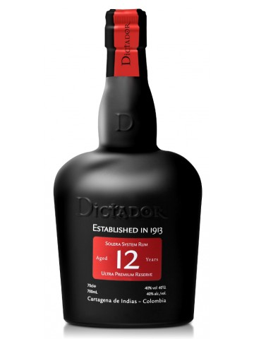 Dictador rum 12 Years Old