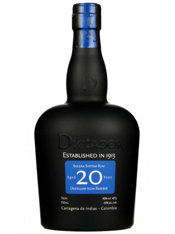 Dictador rum 20 Years Old