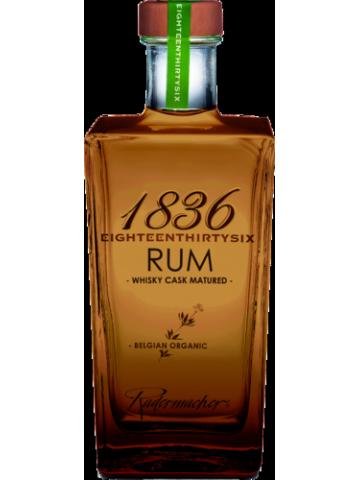 RUM Organic 1836 Whisky Cask Matured