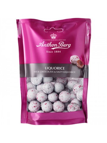 Anthon Berg Chocolate Liquorice Bag 120g
