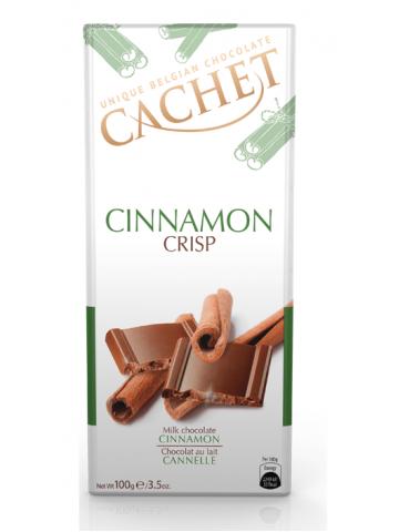 Czekolada Cachet Cinnamon Crisp 100g