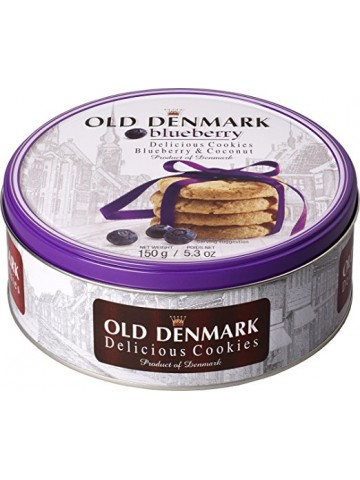 Ciastka Old Denmark Blueberry150g