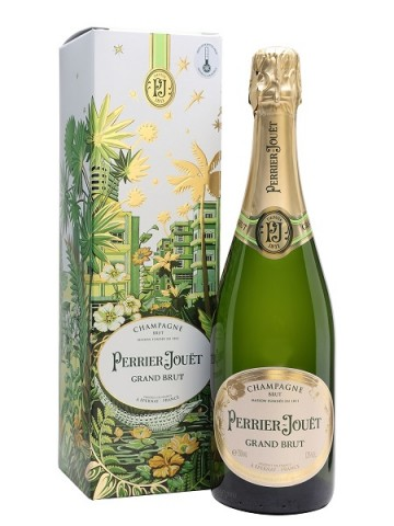 Perrier Jouet Grand Brut Champagne Gift Box