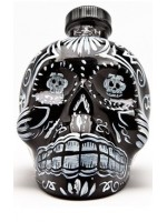 KAH Tequila Añejo 40% 0,7l-czaszka czarna