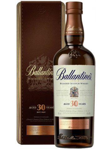 Ballantines 30 Years Old w skrzynce 0,7