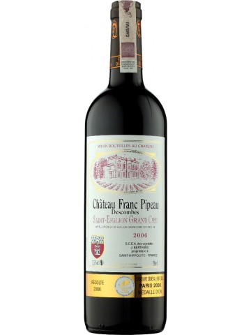 Chateau Franc Pipeau Saint Emilion Grand Cru
