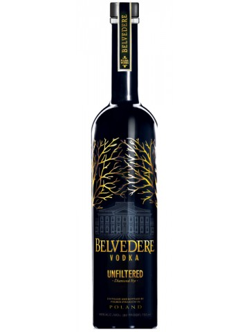 Belvedere Unfiltered Intense 0,7l 40%