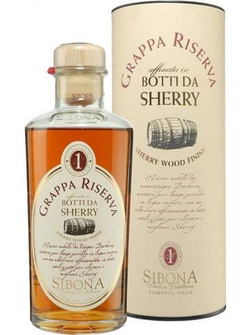 Sibona Grappa Riserva Sherry Wood