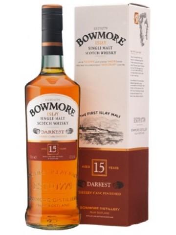 Bowmore 15 YO Darkest 0,7l