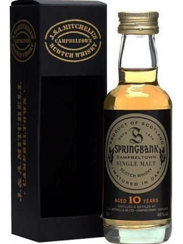 Springbank 10 Years Old 0,05 litra