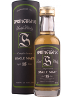 Springbank 15 Years Old / 0,05 litra