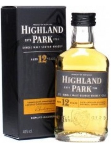 Highland Park 12 Years Old Miniaturka