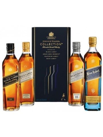 Johnnie Walker Collection Pack 4x0,2l