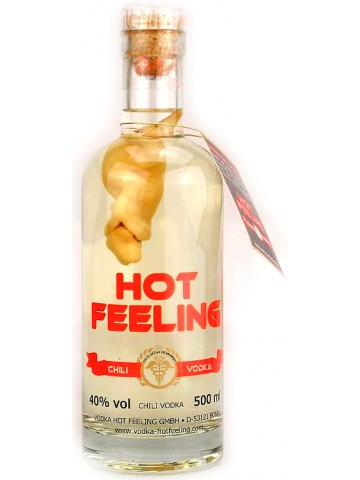 Hot Feeling Chilli Vodka 0,5