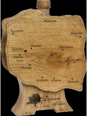 Dębowa Wódka Mapa Polski 40% 100 ml