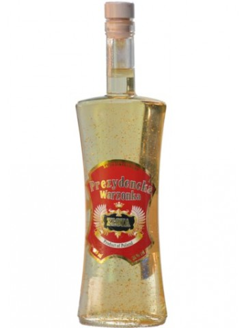 Warzonka Prezydencka Złota 38 % 0,5 litra