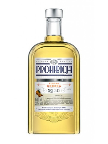 PROHIBICJA WÓDKA SŁODKO GORZKA/ 0,5L/ 32%