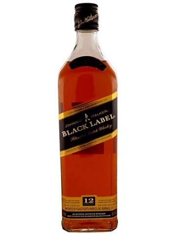 Johnnie Walker Black Label 12 Years Old 0,5l