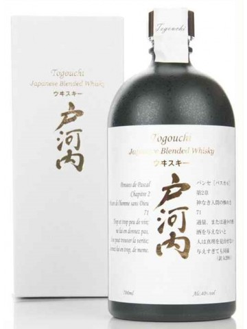 Togouchi Blended Whisky 40% 0,7l