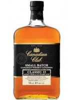 Canadian Club 12 YO Small Batch / 40% / 0,7l
