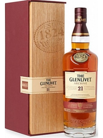 The Glenlivet 21 Years Old Archive 0,7l