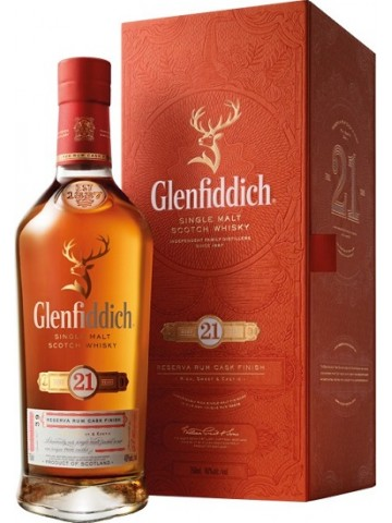 Glenfiddich 21 Years Old Reserva Rum Cask Finish