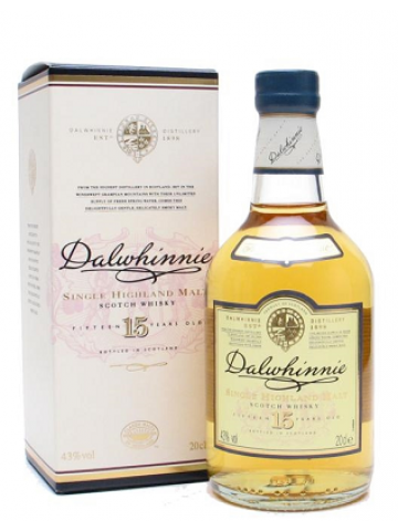 DALWHINNIE 15 YEARS OLD200ml/43%