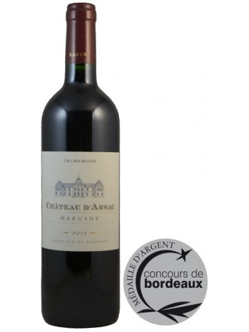 Chateau d'Arsac Margaux Cru Bourgeois